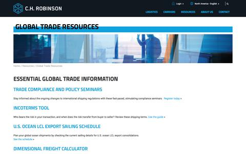 Global Trade Resources