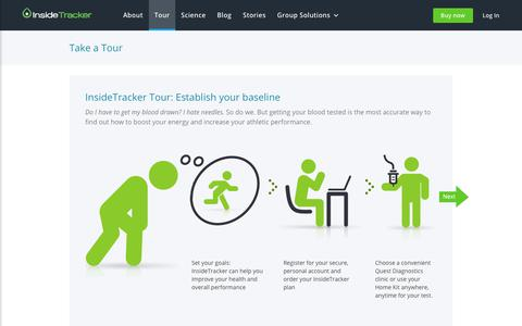Improve fitness & performance with InsideTracker tracking & interventions