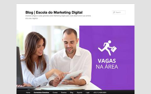 Vagas de Emprego em Marketing Digital | Blog | Escola do Marketing Digital