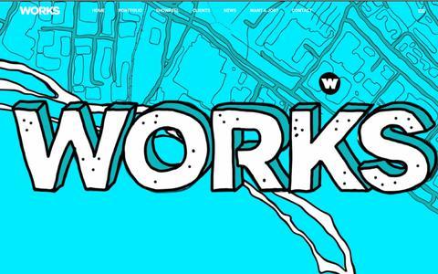 Screenshot of Home Page worksltd.co.uk - Home - Works - captured Nov. 12, 2017