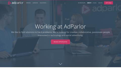 Careers | AdParlor