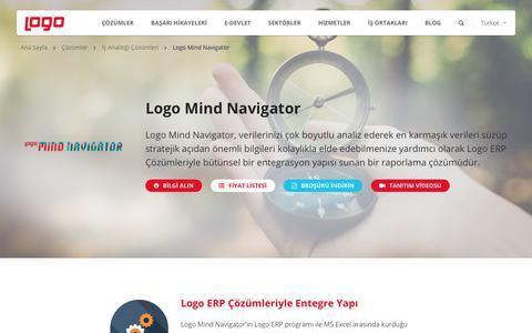Logo Mind Navigator| İş Analitiği ve İş Zekası Çözümleri | Logo Yazılım