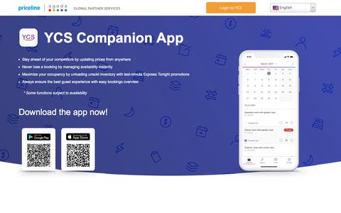 Screenshot of Signup Page agoda.com - YCS - Agoda.com partner extranet - captured May 19, 2018