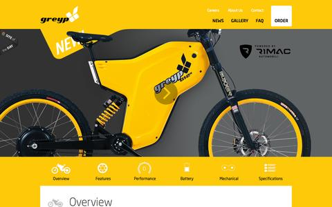 Screenshot of Home Page greyp-bikes.com - Greyp Bikes - captured Sept. 16, 2015