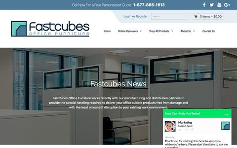 Screenshot of Blog fastcubes.com - Fastcubes Blog - The place for Office Tips & other intriguing topics. - captured Nov. 6, 2018