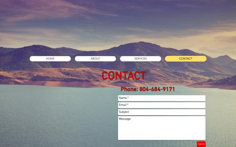 Screenshot of Contact Page tidewaterrv.com - Tidewater RV|Mobile RV Service | Tidewater VA | CONTACT - captured Oct. 18, 2018