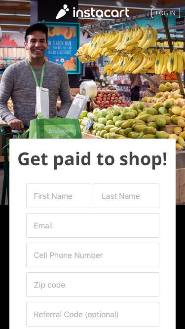 Instacart - Become a Shopper