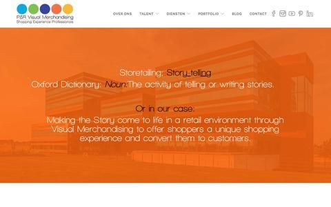 Screenshot of Home Page penr.nl - P&R - Specialist in het Converteren van Shoppers naar Klanten - captured July 7, 2017