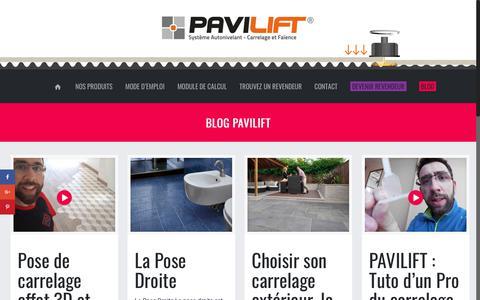 Screenshot of Blog pavilift.com - Blog Pavilift – PAVILIFT - captured Oct. 19, 2018