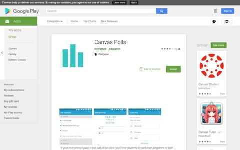 Canvas Polls - Apps on Google Play