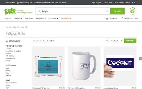 Religion Gifts & Merchandise   Religion Gift Ideas & Apparel - CafePress