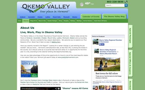 Screenshot of About Page yourplaceinvermont.com - About Us - Your Place in Vermont - captured Oct. 7, 2014