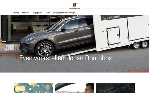 Screenshot of Blog porschecentrumgroningen.nl - Home - Porsche Centrum Groningen - captured Dec. 8, 2018