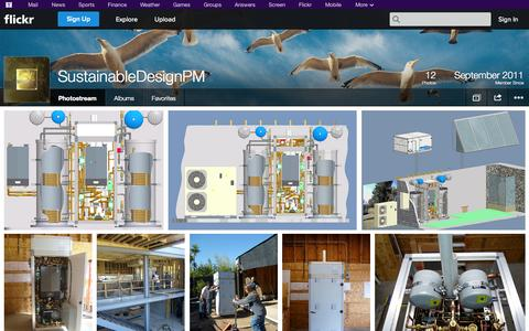 Screenshot of Flickr Page flickr.com - Flickr: SustainableDesignPM's Photostream - captured Oct. 26, 2014