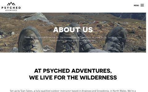 About us Ń Psyched Adventures