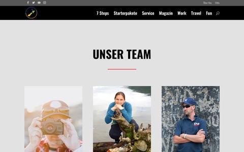 Screenshot of Team Page work-travel-fun.com - Work-Travel-Fun Team | Work and Travel in Neuseeland - captured Dec. 13, 2018