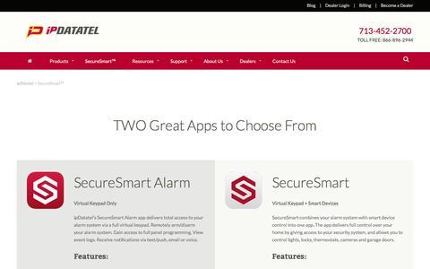 SecureSmart™ - ipDatatel
