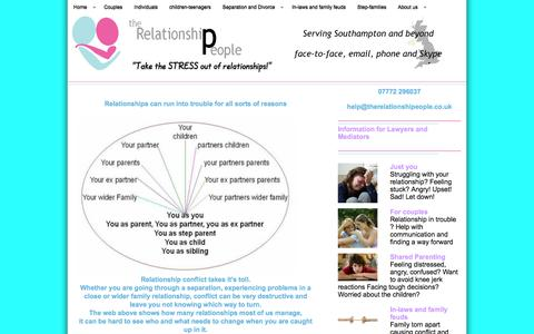 Screenshot of Home Page therelationshipeople.co.uk - Relationship HelpThe Relationship People | Relationship guidance for the 21st Century - captured Feb. 28, 2016