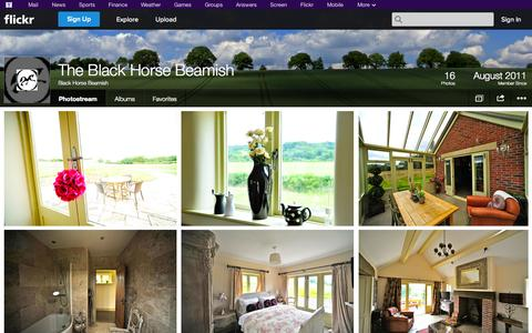 Screenshot of Flickr Page flickr.com - Flickr: Black Horse Beamish's Photostream - captured Oct. 25, 2014
