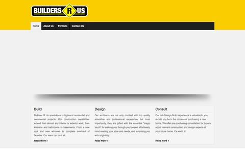 Screenshot of Home Page buildersrusnj.com - Welcome to Builders R Us - captured Oct. 5, 2014