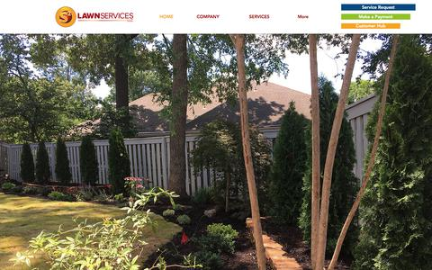 Screenshot of Home Page s2lawnservices.com - S2 Lawn Services - Lawn Care Madison AL - captured Sept. 25, 2017