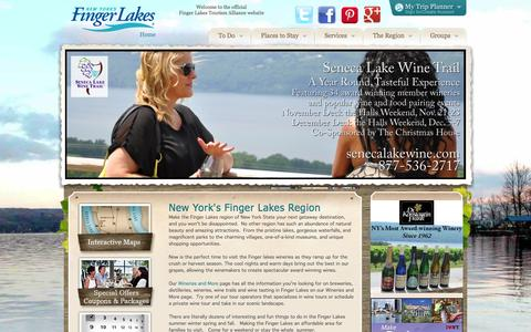 Finger Lakes Regional Tourism Authority on Places to Stay, Where to Eat and Things to Do - Finger Lakes Tourism Alliance