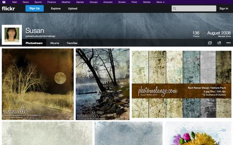 Screenshot of Flickr Page flickr.com - Flickr: cathairstudios/photomelange's Photostream - captured Oct. 22, 2014