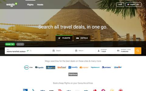 Cheap Flights, Hotels and Travel Deals | Wego.com