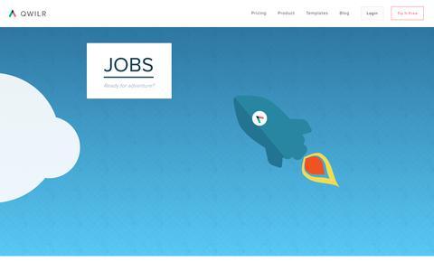 Jobs - Qwilr - Qwilr