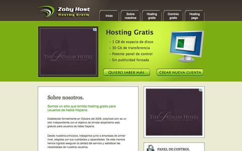 Screenshot of Home Page rdrconsultora.com.ar - RDR Consultora - captured Sept. 30, 2014
