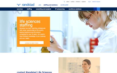 Pharma & Life Science Staffing & Recruiting Solutions | Randstad USA