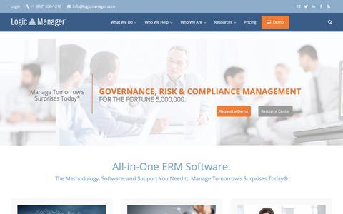 ERM Software | Enterprise Risk Management & GRC Solutions