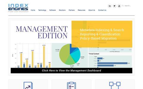 Screenshot of Team Page indexengines.com - Management Edition - captured Dec. 5, 2019