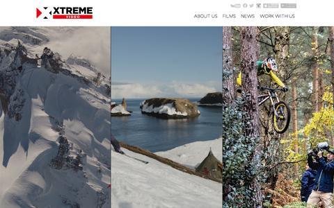 Screenshot of Home Page x-tremevideo.com - XTremeVideo - captured Dec. 18, 2015