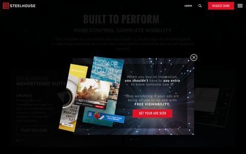 SteelHouse | Cloud-Based Marketing & Advertising Suite