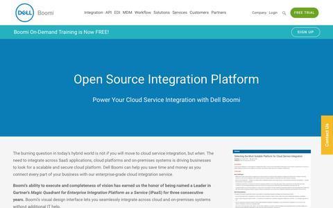 Cloud Service Integration - Dell Boomi
