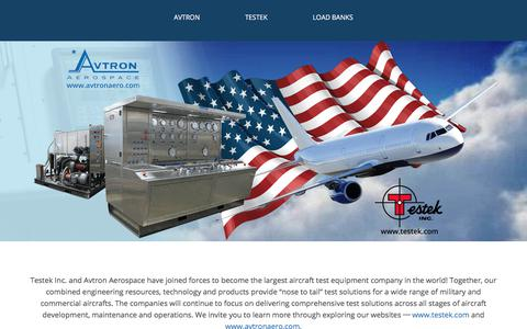 Testek + Avtron Aerospace | Aircraft Test Equipment | Load Banks