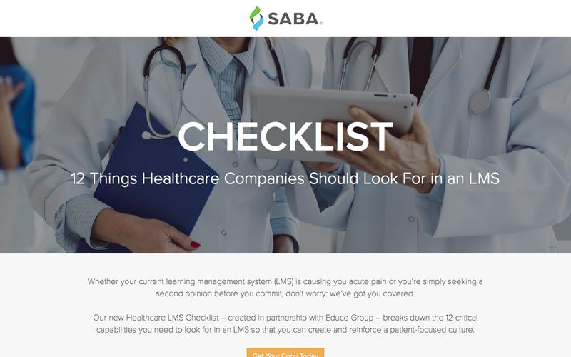 CHECKLIST: 12 Things Healthcare Companies Should Look For in an LMS