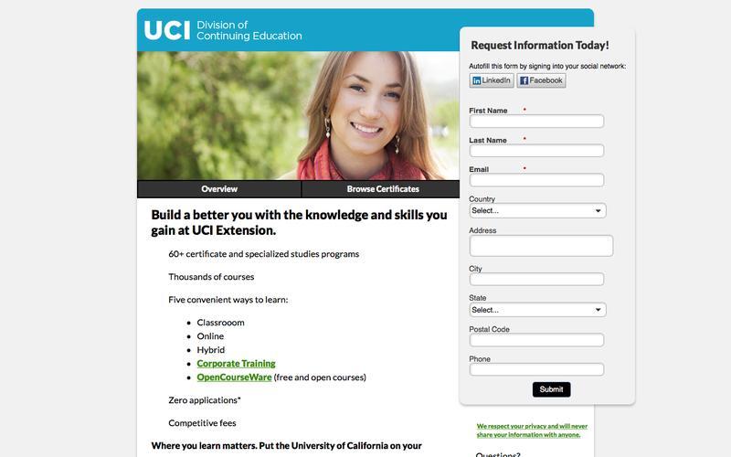 UC Irvine Extension Programs
