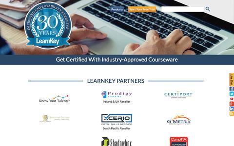 Certification Vendors | Partner Companies | LearnKey