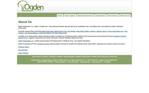 Screenshot of About Page ogdenpubs.com - About Us - captured Sept. 23, 2014