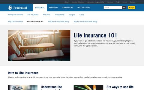 Life Insurance 101 | Prudential Financial
