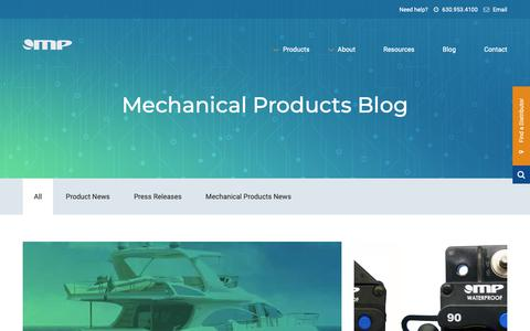 Screenshot of Blog mechprod.com - Blog | Mechanical Products - captured Oct. 2, 2018