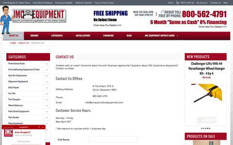 Contact JMC Automotive Equipment
