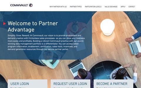 Partner Advantage   Home