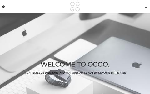 OGGO |Bienvenue