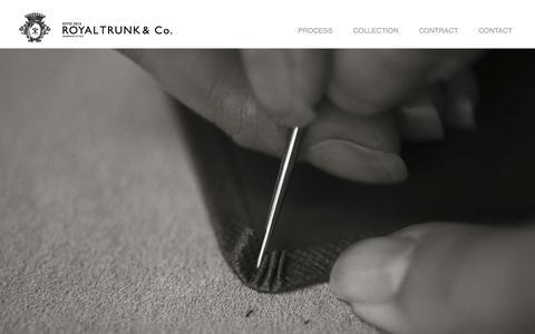 Screenshot of Home Page royaltrunk.com - Royal Trunk - captured Oct. 7, 2014