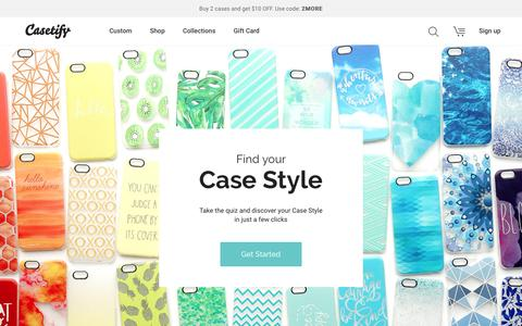 Casetify - Custom Cases | iPhone6S | iPhone6S Plus | iPhone6 | iPhone6 Plus | Apple Watch | iPhone 5S | iPhone 5C | iPhone 4S | iPad | iPod Touch | Samsung Galaxy | formerly Casetagram