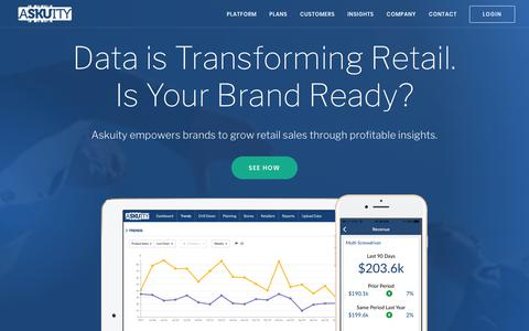 Askuity: Retail Sales Enablement