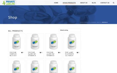 Minerals Archives - Private Label Supplements and Vitamins